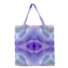 Beautiful Blue Purple Pastel Pattern, Grocery Tote Bag by Costasonlineshop