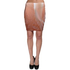 Floating Subdued Peach Bodycon Skirts by timelessartoncanvas