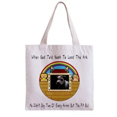 But The Pit Bull Zipper Grocery Tote Bag by ButThePitBull