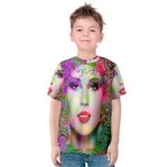Flowers In Your Hair Kid s Cotton Tee