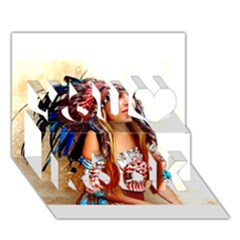 Indian 21 You Rock 3d Greeting Card (7x5)  by indianwarrior