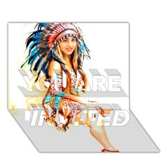 Indian 18 You Are Invited 3d Greeting Card (7x5)  by indianwarrior