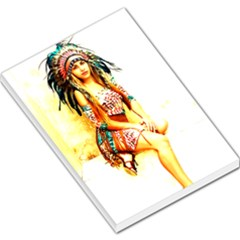 Indian 16 Large Memo Pads by indianwarrior