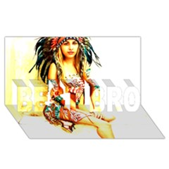 Indian 16 Best Bro 3d Greeting Card (8x4)  by indianwarrior