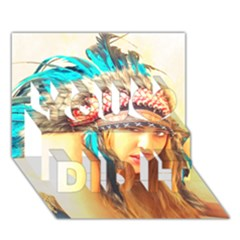 Indian 14 You Did It 3d Greeting Card (7x5) by indianwarrior