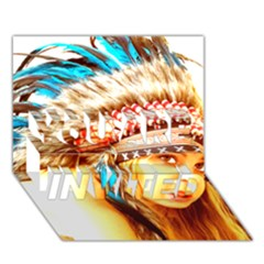 Indian 12 You Are Invited 3d Greeting Card (7x5)  by indianwarrior