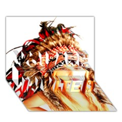 Indian 3 You Are Invited 3d Greeting Card (7x5)  by indianwarrior