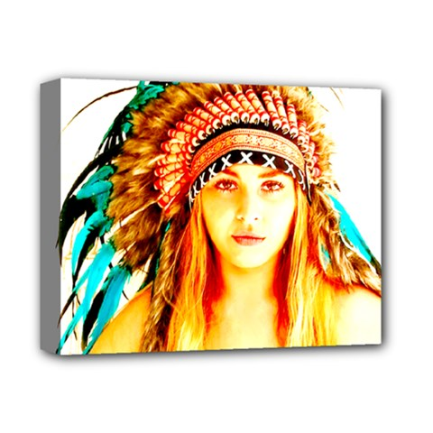 Indian 29 Deluxe Canvas 14  X 11  by indianwarrior
