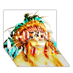 Indian 29 You Are Invited 3d Greeting Card (7x5)  by indianwarrior