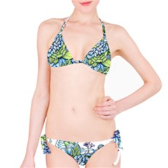 Peaceful Flower Garden Bikini Set by Zandiepants