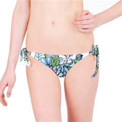Peaceful Flower Garden Bikini Bottom by Zandiepants