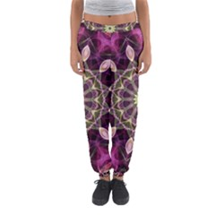 Purple Flower Women s Jogger Sweatpants by Zandiepants