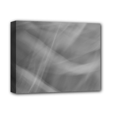 Gray Fog Deluxe Canvas 14  X 11  by timelessartoncanvas