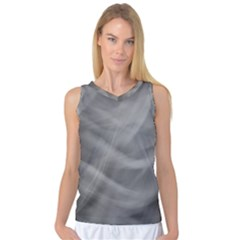 Gray Fog Women s Basketball Tank Top by timelessartoncanvas