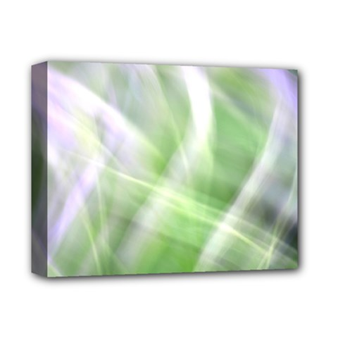 Green And Purple Fog Deluxe Canvas 14  X 11  by timelessartoncanvas