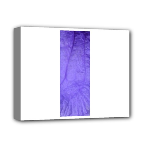 Purple Modern Leaf Deluxe Canvas 14  X 11  by timelessartoncanvas