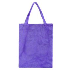 Purple Modern Leaf Classic Tote Bag by timelessartoncanvas