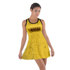 Used Look Follow Me Dancer Cotton Racerback Dress by LetsDanceHaveFun