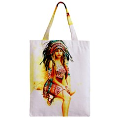 Indian 16 Zipper Classic Tote Bag by indianwarrior