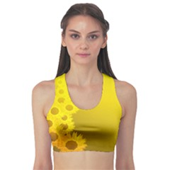 Sunflower Sports Bra