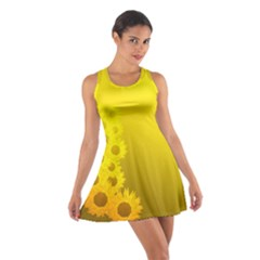 Sunflower Cotton Racerback Dress