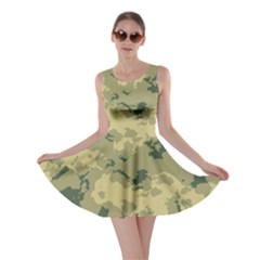 Greencamouflage Skater Dresses by LetsDanceHaveFun