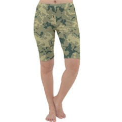 Greencamouflage Cropped Leggings