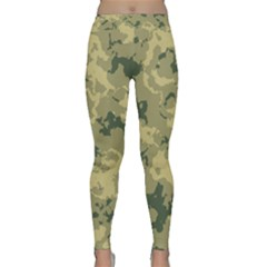 Greencamouflage Yoga Leggings