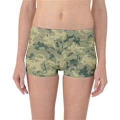 Greencamouflage Boyleg Bikini Bottoms by LetsDanceHaveFun