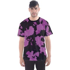 Pink Camouflage Men s Sport Mesh Tees by LetsDanceHaveFun