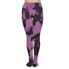 Pink Camouflage Women s Tights by LetsDanceHaveFun