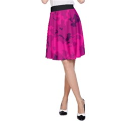 Pink Tarn A Line Skirt by LetsDanceHaveFun