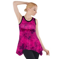 Pink Tarn  Side Drop Tank Tunic by LetsDanceHaveFun