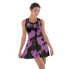 Pink Camouflage Cotton Racerback Dress by LetsDanceHaveFun