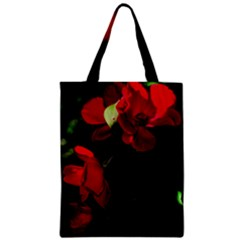 Roses 4 Zipper Classic Tote Bag by timelessartoncanvas