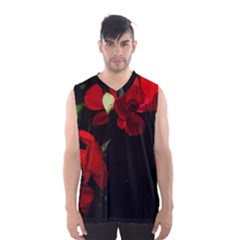 Roses 4 Men s Basketball Tank Top by timelessartoncanvas