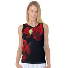 Roses 4 Women s Basketball Tank Top by timelessartoncanvas