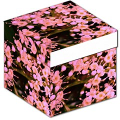 Little Mauve Flowers Storage Stool 12