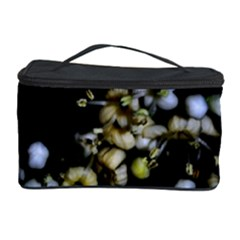 Little White Flowers 2 Cosmetic Storage Cases by timelessartoncanvas