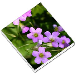 Little Purple Flowers Small Memo Pads by timelessartoncanvas