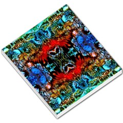 Colorful  Underwater Plants Pattern Small Memo Pads by Costasonlineshop
