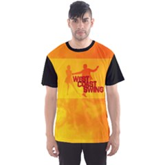 West Coast Swing Men s Sport Mesh Tee