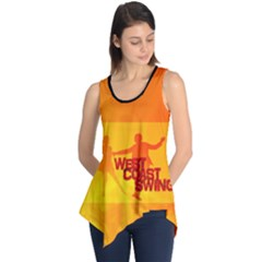 West Coast Swing Sleeveless Tunic by LetsDanceHaveFun