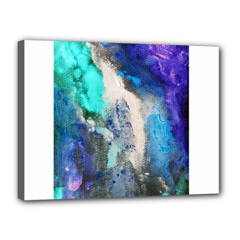 Violet Art Canvas 16  X 12  (stretched) by 20JA