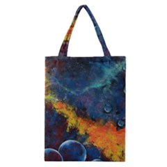 Space Balls Classic Tote Bag by timelessartoncanvas