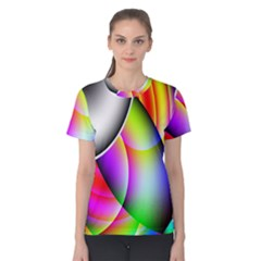 Psychedelic Design Women s Cotton Tee by timelessartoncanvas