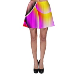 Colorful 1 Skater Skirt by timelessartoncanvas