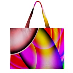 Colorful 1 Zipper Mini Tote Bag