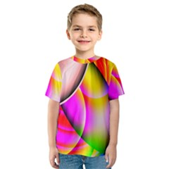Colorful 1 Kid s Sport Mesh Tee by timelessartoncanvas
