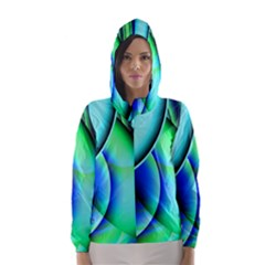 New 2 Hooded Wind Breaker (women) by timelessartoncanvas